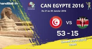 tunisie-kenya-résultat