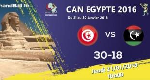 tunisie-libyerésultats
